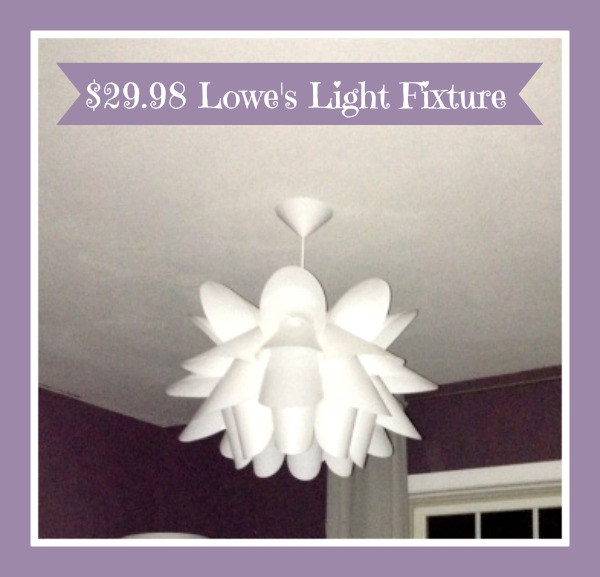 $29.98 Loweu0027s Light Fixture Lighting/Light Fixtures | Heroth Home | Page 2